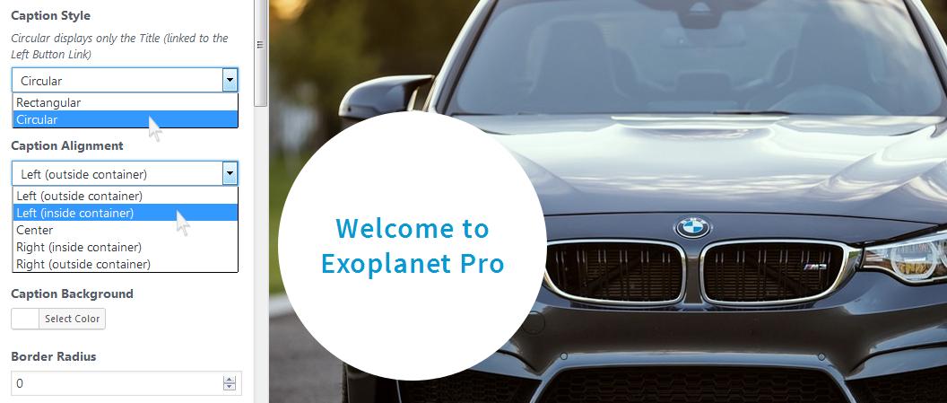 Exoplanet Pro Slider Demo